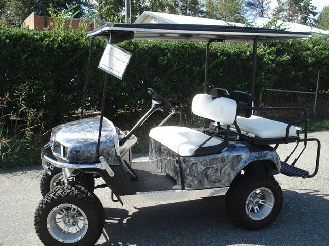 Custom Yamaha Golf Car
