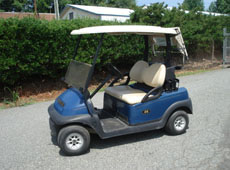 2009 club car precedent - blue