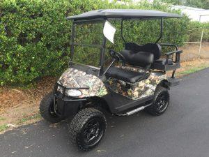 Camo Lifted EZ-GO RXV 48V