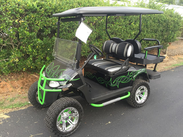 Customized Golf Carts for Sale | CGC on red ezgo golf cart, lifted ezgo golf cart, lifted yamaha golf cart, car wheels on lifted golf cart, red chevy golf cart, red dot enclosures golf cart, red golf cart illustration, red jack up golf carts, red custom golf cart, super lifted golf cart,