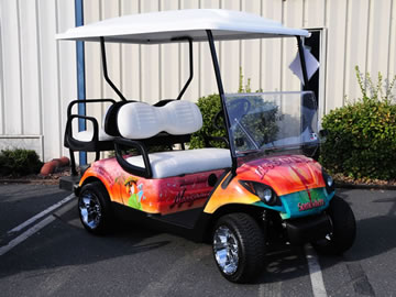 custom golf cart sales