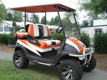 refurbished golf cart sales