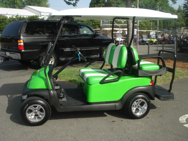 Customized Golf Carts for Sale | CGC on golf cart graphics, golf cart flame paint, golf cart paint colors,