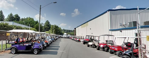 Carolina Golf Cars Lot