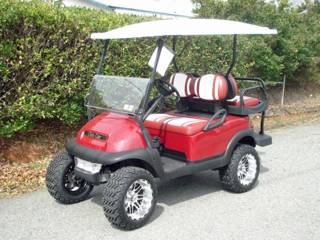 club car at carolina golf cars charlotte NC https://carolinagolfcars.com