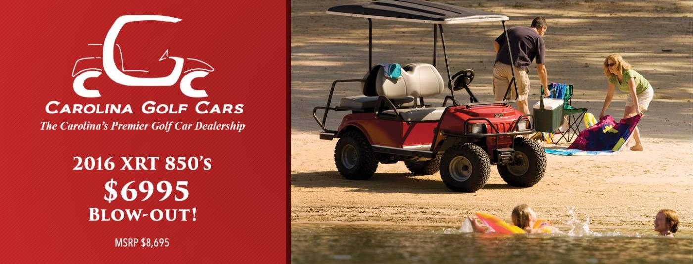 Club Car XRT 850 Sale!