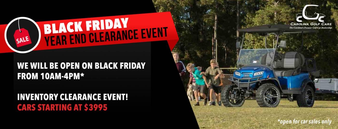 Black Friday Sale Golf Carts Charlotte NC