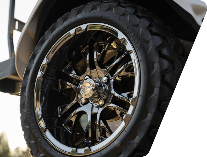 Golf Cart Custom Wheels And Tires 725x549 1