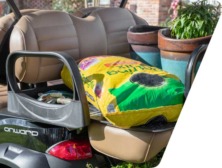 Onward Golf Cart Rear Seat Flips Out To Bed 725x549 1