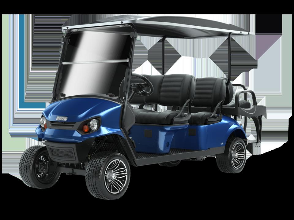 EZGO S6 Electric Blue 0