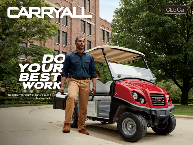 Club-Car-Carryall-Utility-Vehicle-Higher-Education-Do-Your-Best-Work